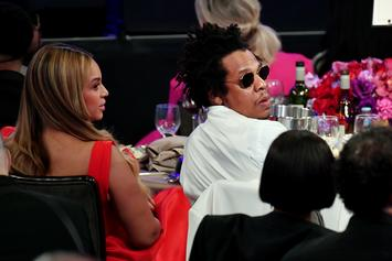 Beyoncé And Jay-Z Stayed Seated During National Anthem At Super Bowl