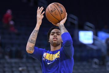D'Angelo Russell Offers Thoughts On Trade Rumors Surrounding Him