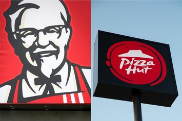 """KFC & Pizza Hut Join Forces To Concoct """"Popcorn Chicken Pizza"""""""