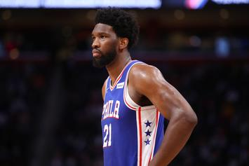 Joel Embiid Booed By 76ers Fans During Team Introduction: Watch