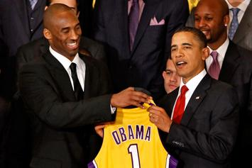 Barack Obama Honors Kobe Bryant During All-Star Weekend Speech