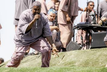 Kanye West Performs Sunday Service During All-Star Weekend: Watch
