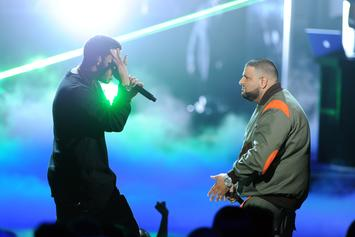 "DJ Khaled Reminds Us Of Drake's Success With ""Views"" While In Toronto"