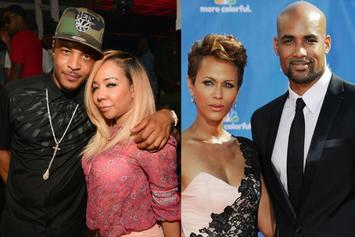 "T.I. & Tiny Ask Boris Kodjoe & Nicole Ari Parker How They Keep Their Drama ""In-House"""