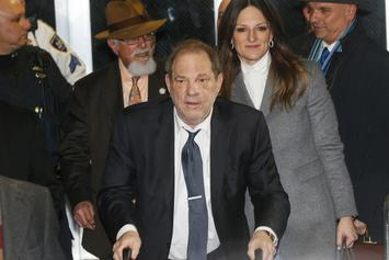 Harvey Weinstein Rushed To Hospital For Chest Pain
