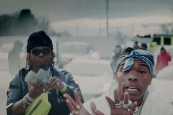 "Lil Baby & Gunna Are On Fire In ATL For The ""Heatin Up"" Video"