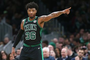 Marcus Smart Escorted Off Court After Altercation With Referee