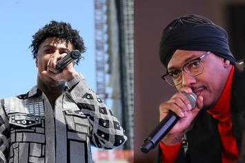 """Blueface & Nick Cannon Have An Offbeat Rap Battle On """"Wild 'N Out"""""""
