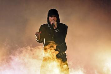 "Eminem Shares Trailer For Cole Bennett-Directed ""Godzilla"" Video"