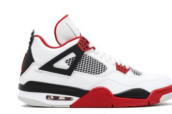 "Air Jordan 4 ""Fire Red"" Rumored To Return This Year"