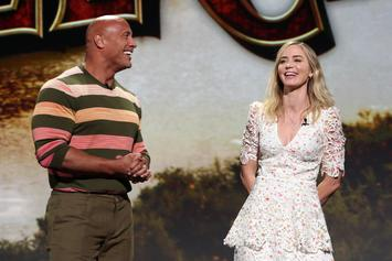 "The Rock & Emily Blunt Fight Off Jaguars In ""Jungle Cruise"" Trailer"