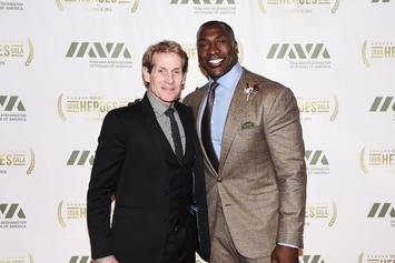 Skip Bayless & Shannon Sharpe Offer Somber Reaction To NBA Hiatus