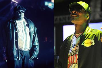 Snoop Dogg Remembers Biggie With Rare '90s Throwback Photo
