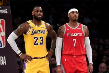 LeBron James Saved Carmelo Anthony After He Was Nearly Lost At Sea