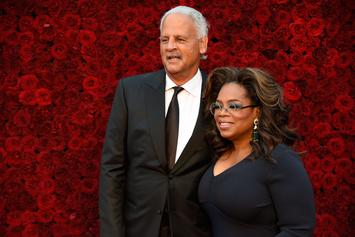 Oprah Reunites With Stedman Graham After Spending 14-Day Quarantine Apart