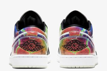 Air Jordan 1 Low Receives Galactic New Colorway: Photos