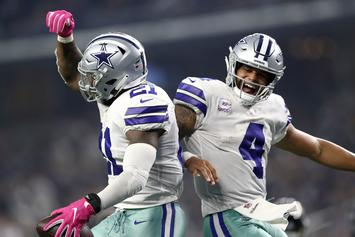 Dak Prescott & Ezekiel Elliott Appear To Break Quarantine Together