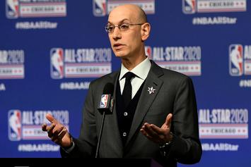 Adam Silver Provides Latest Update On NBA Season's Future