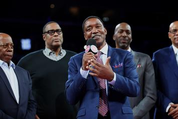 """Isiah Thomas Expresses Disappointment Over """"Dream Team"""" Snub"""