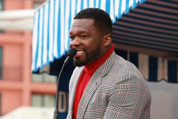 50 Cent Has Violent Reaction To Mural Of Himself As Taylor Swift
