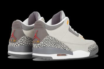 "Air Jordan 3 ""Cool Grey"" Set To Make A Comeback: Details"
