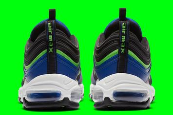 Seahawks-Inspired Nike Air Max 97 Dropping Soon: Photos