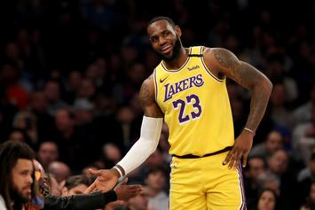 LeBron James Gets Knicks Fans Riled Up With Latest Tweet
