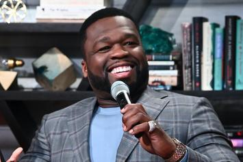 50 Cent Reacts To Another Mural, Melding His Face With Mike Tyson