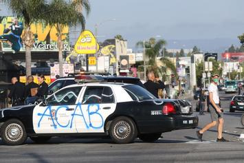 LAPD Cops Fire Rubber Bullets At Black Teens In Drive-By Shooting