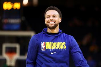 Steph Curry Leads Anti-Trump Chant At Bay Area Protest