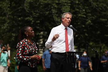 NYC Mayor De Blasio To Lower Funding For NYPD