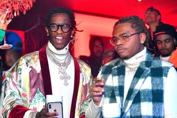 """Young Thug Responds To Gunna Video Shooting: """"We The Ones That Did It"""""""