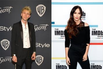 "Machine Gun Kelly Says He's ""In Love"" During Picnic Date With Megan Fox"