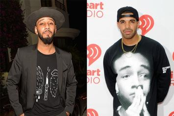 "Swizz Beatz Calls Drake ""P*ssy Boy"" To Busta Rhymes; Drake's Crew Responds"