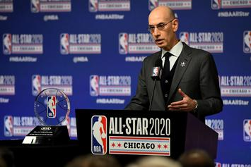 """Adam Silver On NBA Return: """"No Choice But To Learn To Live With This Virus"""""""