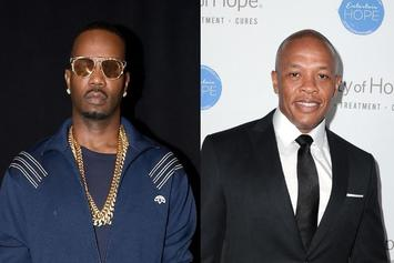 "Juicy J Wants All The ""Verzuz"" Smoke With Dr. Dre"