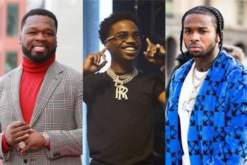 """50 Cent & Roddy Ricch To Drop """"The Woo"""" Music Video On Pop Smoke's Birthday"""