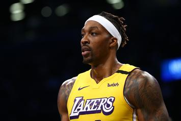 """Dwight Howard Says It's """"Pointless"""" To Report Him For Not Wearing Mask"""