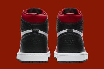"Air Jordan 1 High OG ""Satin Snakeskin"" Officially Unveiled: Photos"