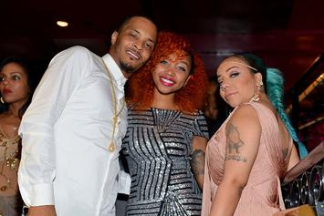 Tiny's Daughter Zonnique Wants To Puke After Reading Caption For T.I. Pic