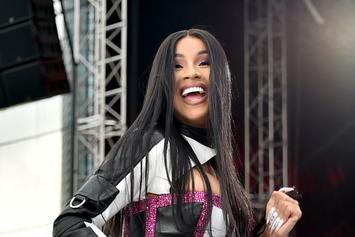 Cardi B Stunts Louis Vuitton Hair On Instagram