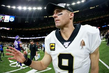 Drew Brees Reveals His Anthem Plans For Next Season