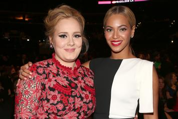 "Adele Shares A Selfie & Thanks Beyoncé For Her Art While Watching ""Black Is King"""