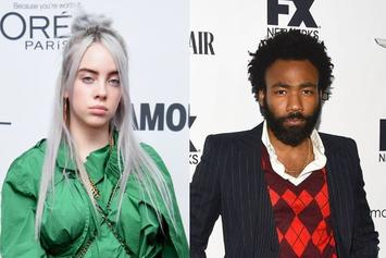 "Billie Eilish Calls Childish Gambino One Of Her ""All-Time Favorites,"" Praises ""Bonfire"" Single"