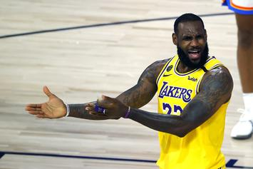 LeBron James Takes Shot At Donald Trump Over NBA Viewership