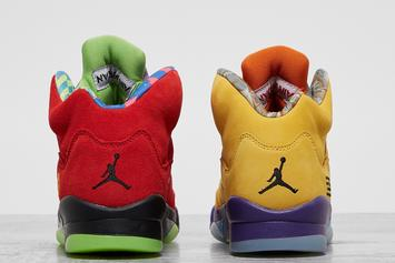 """Air Jordan 5 """"What The"""" Release Date Revealed: Official Photos"""
