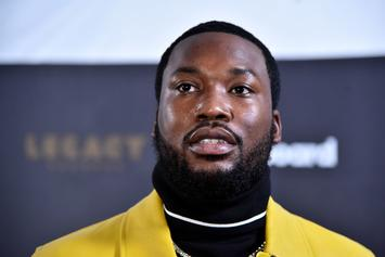 Meek Mill Caught Looking For His Wife During Monica & Brandy Verzuz
