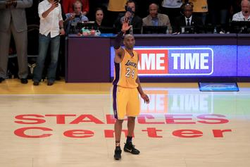 Kobe Bryant Autographed Lakers Court Auctions For Massive Price