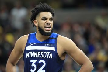 """Karl-Anthony Towns """"Super Supportive"""" Of Jordyn Woods' OnlyFans"""