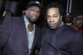 50 Cent & Busta Rhymes Connect In Badass Throwback Pic